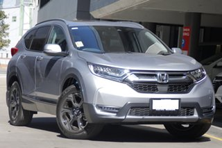 2018 Honda CR-V RW MY19 VTi-LX 4WD Lunar Silver 1 Speed Constant Variable Wagon.