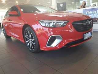 2018 Holden Commodore ZB MY18 RS Liftback Absolute Red 9 Speed Sports Automatic Liftback.