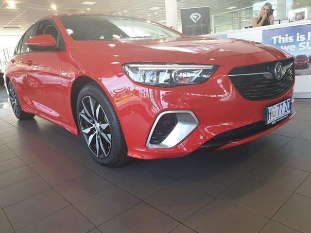 Demo Holden Commodore ZB MY18 RS Liftback, 2018 Holden Commodore ZB MY18 RS Liftback Absolute Red 9 Speed Sports Automatic Liftback