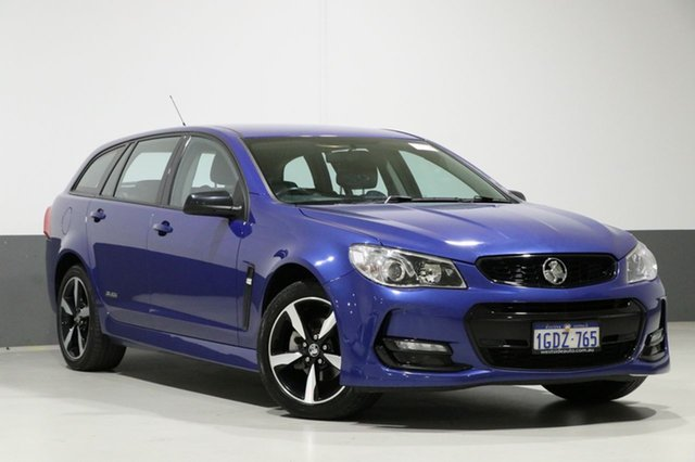 Used Holden Commodore Vfii MY16 SV6 Black Edition, 2016 Holden Commodore Vfii MY16 SV6 Black Edition Slipstream 6 Speed Automatic Sportswagon