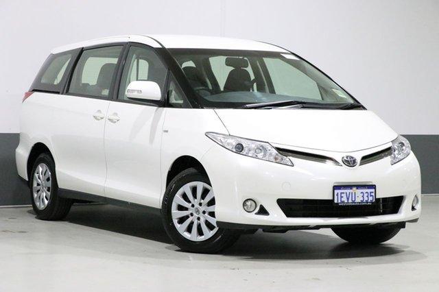 Used Toyota Tarago ACR50R MY13 GLi, 2015 Toyota Tarago ACR50R MY13 GLi White 7 Speed CVT Auto Sequential Wagon
