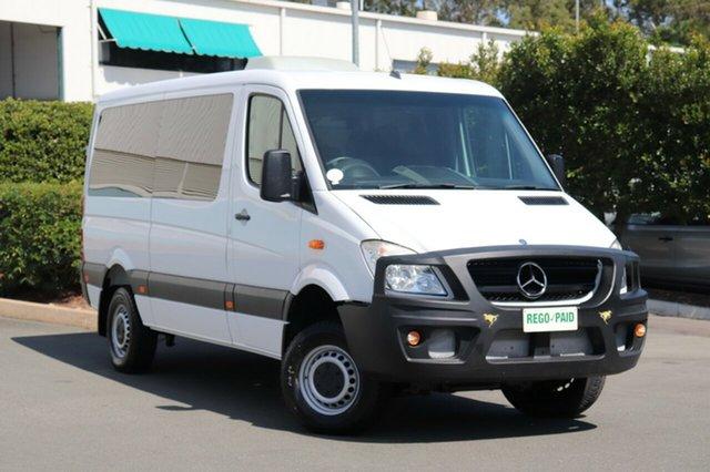 Used Mercedes-Benz Sprinter 906 MY10 316 CDI LWB (4x4), 2011 Mercedes-Benz Sprinter 906 MY10 316 CDI LWB (4x4) White Van