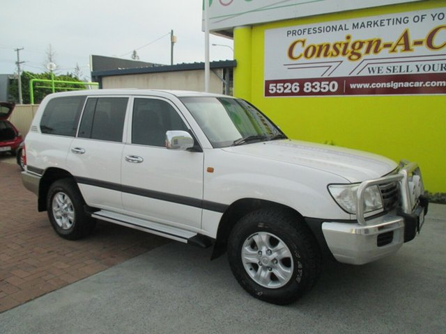 Used Toyota Landcruiser UZJ100R GXL, 2007 Toyota Landcruiser UZJ100R GXL White 5 Speed Automatic Wagon