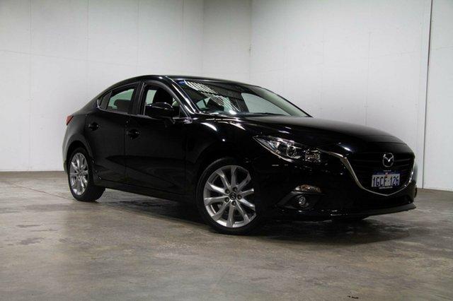 Used Mazda 3 BM5238 SP25 SKYACTIV-Drive, 2015 Mazda 3 BM5238 SP25 SKYACTIV-Drive Black 6 Speed Sports Automatic Sedan