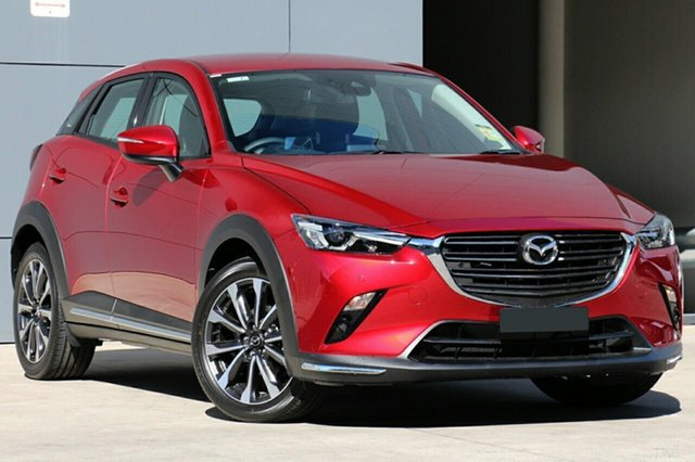 New Mazda CX-3 DK2W7A sTouring SKYACTIV-Drive FWD, 2020 Mazda CX-3 DK2W7A sTouring SKYACTIV-Drive FWD Soul Red Crystal 6 Speed Sports Automatic Wagon