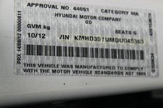 2012 Hyundai i30 GD Premium White 6 Speed Sports Automatic Hatchback