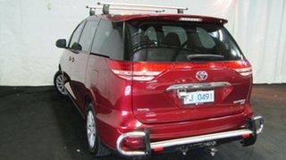 2006 Toyota Tarago ACR30R MY03 GLi Burgundy 4 Speed Automatic Wagon.