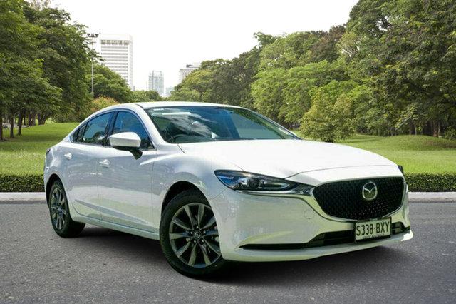 Demo Mazda 6 GL1032 Sport SKYACTIV-Drive, 2018 Mazda 6 GL1032 Sport SKYACTIV-Drive White Pearl 6 Speed Sports Automatic Sedan