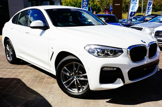 Used BMW X4 G02 xDrive20i Coupe Steptronic M Sport, 2019 BMW X4 G02 xDrive20i Coupe Steptronic M Sport White 8 Speed Automatic Wagon