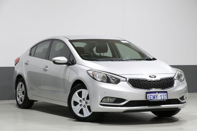 Used Kia Cerato YD MY15 S, 2014 Kia Cerato YD MY15 S Silver 6 Speed Automatic Sedan