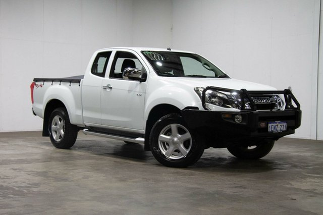 Used Isuzu D-MAX MY12 LS-U Crew Cab, 2013 Isuzu D-MAX MY12 LS-U Crew Cab White 5 Speed Manual Utility