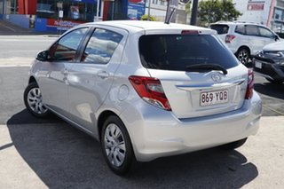 2017 Toyota Yaris NCP130R Ascent Silver 4 Speed Automatic Hatchback.