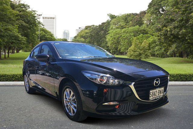 Demo Mazda 3 BN5278 Neo SKYACTIV-Drive Sport, 2018 Mazda 3 BN5278 Neo SKYACTIV-Drive Sport Jet Black 6 Speed Sports Automatic Sedan
