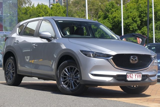 Demo Mazda CX-5 KF4W2A Touring SKYACTIV-Drive i-ACTIV AWD, 2018 Mazda CX-5 KF4W2A Touring SKYACTIV-Drive i-ACTIV AWD Sonic Silver 6 Speed Sports Automatic
