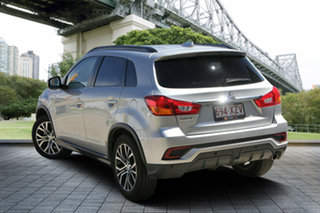 2018 Mitsubishi ASX XC MY18 LS 2WD Silver 6 Speed Constant Variable Wagon.