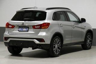 2018 Mitsubishi ASX XC MY18 LS (2WD) Silver Continuous Variable Wagon