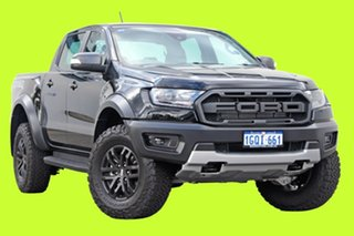2018 Ford Ranger PX MKIII 2019.0 Raptor Pick-up Double Cab Shadow Black 10 Speed Sports Automatic.
