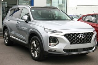 2019 Hyundai Santa Fe TM MY19 Highlander Typhoon Silver 8 Speed Sports Automatic Wagon.
