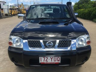 2012 Nissan Navara D22 S5 ST-R Black 5 Speed Manual Utility