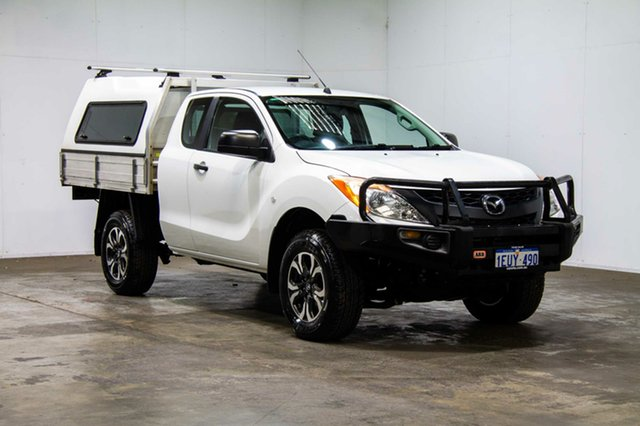 Used Mazda BT-50 UP0YF1 XT, 2015 Mazda BT-50 UP0YF1 XT White 6 Speed Sports Automatic Utility