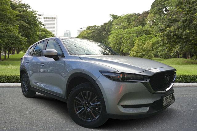 Demo Mazda CX-5 KF4WLA Maxx SKYACTIV-Drive i-ACTIV AWD Sport, 2019 Mazda CX-5 KF4WLA Maxx SKYACTIV-Drive i-ACTIV AWD Sport Sonic Silver 6 Speed Sports Automatic