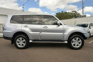 2008 Mitsubishi Pajero NS 25th Anniversary Silver 5 Speed Sports Automatic Wagon.