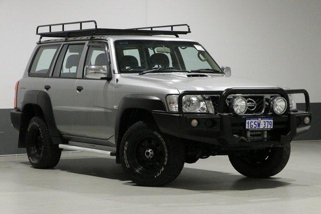 Used Nissan Patrol GU Series 9 DX (4x4), 2013 Nissan Patrol GU Series 9 DX (4x4) Silver 4 Speed Automatic Wagon