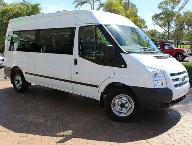 Used Ford Transit VM MY13 Mid Roof, 2013 Ford Transit VM MY13 Mid Roof White 6 Speed Manual Bus