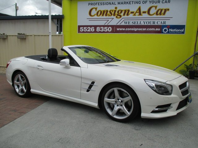 Used Mercedes-Benz SL500 R231 7G-Tronic +, 2013 Mercedes-Benz SL500 R231 7G-Tronic + Diamond White Bright 7 Speed Sports Automatic Roadster