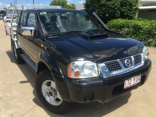 2012 Nissan Navara D22 S5 ST-R Black 5 Speed Manual Utility.
