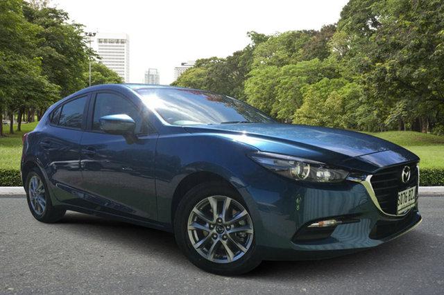 Demo Mazda 3 BN5476 Neo SKYACTIV-MT Sport, 2018 Mazda 3 BN5476 Neo SKYACTIV-MT Sport Eternal Blue 6 Speed Manual Hatchback