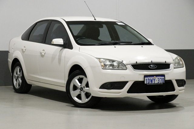 Used Ford Focus LT 08 Upgrade LX, 2008 Ford Focus LT 08 Upgrade LX White 4 Speed Automatic Sedan