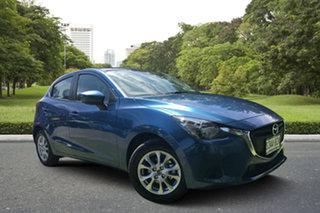 2018 Mazda 2 DJ2HA6 Maxx SKYACTIV-MT Eternal Blue 6 Speed Manual Hatchback.
