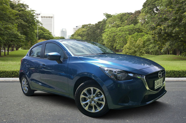 Demo Mazda 2 DJ2HA6 Maxx SKYACTIV-MT, 2018 Mazda 2 DJ2HA6 Maxx SKYACTIV-MT Eternal Blue 6 Speed Manual Hatchback