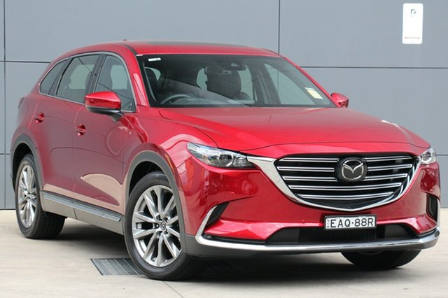 Demo Mazda CX-9 TC GT SKYACTIV-Drive, 2018 Mazda CX-9 TC GT SKYACTIV-Drive Soul Red Crystal 6 Speed Sports Automatic Wagon