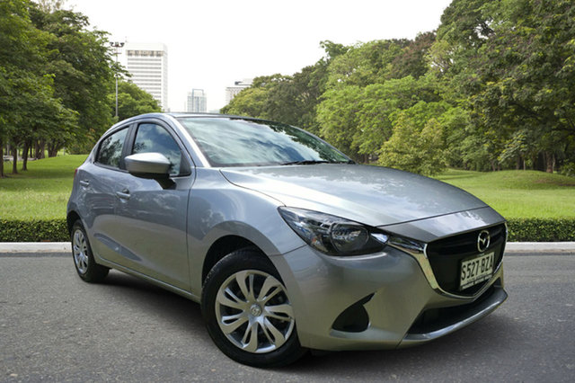 Demo Mazda 2 DJ2HA6 Neo SKYACTIV-MT, 2018 Mazda 2 DJ2HA6 Neo SKYACTIV-MT Aluminium 6 Speed Manual Hatchback
