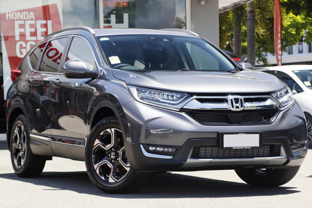 Demo Honda CR-V RW MY19 VTi-LX 4WD, 2018 Honda CR-V RW MY19 VTi-LX 4WD Modern Steel 1 Speed Constant Variable Wagon