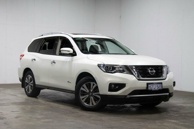 Used Nissan Pathfinder R52 Series II MY17 ST-L X-tronic 4WD, 2017 Nissan Pathfinder R52 Series II MY17 ST-L X-tronic 4WD Pearl White 1 Speed Constant Variable