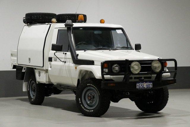 Used Toyota Landcruiser HDJ79R (4x4), 2005 Toyota Landcruiser HDJ79R (4x4) White 5 Speed Manual 4x4 Cab Chassis