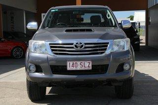 2012 Toyota Hilux KUN26R MY12 SR5 Xtra Cab Grey 5 Speed Manual Utility