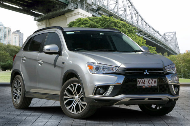 Used Mitsubishi ASX XC MY18 LS 2WD, 2018 Mitsubishi ASX XC MY18 LS 2WD Silver 6 Speed Constant Variable Wagon