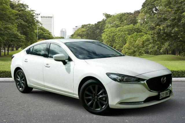 Demo Mazda 6 GL1032 Touring SKYACTIV-Drive, 2018 Mazda 6 GL1032 Touring SKYACTIV-Drive White Pearl 6 Speed Sports Automatic Sedan