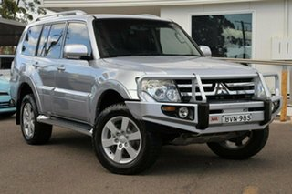 2008 Mitsubishi Pajero NS 25th Anniversary Silver 5 Speed Sports Automatic Wagon