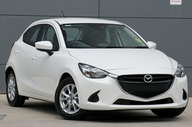 New Mazda 2 DJ2HA6 Maxx SKYACTIV-MT, 2019 Mazda 2 DJ2HA6 Maxx SKYACTIV-MT Snowflake White 6 Speed Manual Hatchback