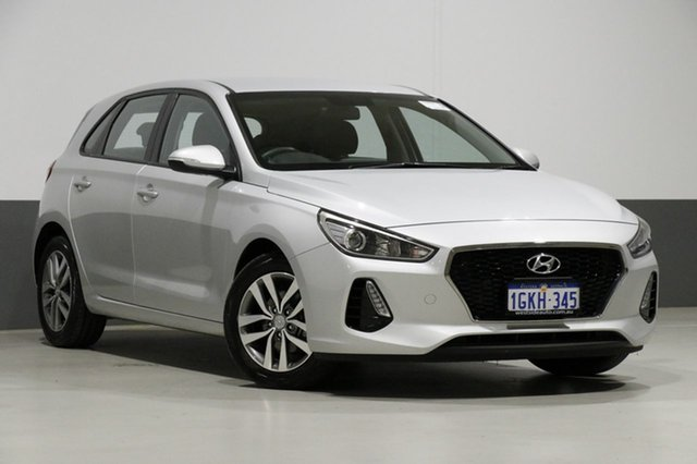Used Hyundai i30 PD Active, 2017 Hyundai i30 PD Active Silver 6 Speed Auto Sequential Hatchback
