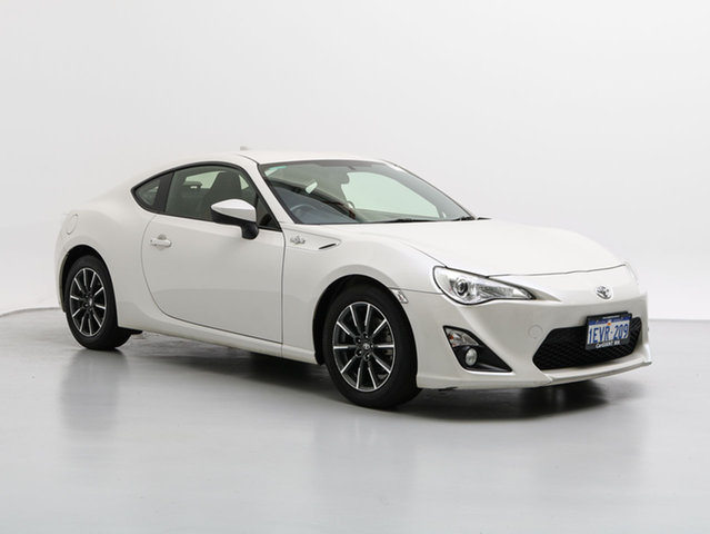 Used Toyota 86 ZN6 MY14 Upgrade GT, 2014 Toyota 86 ZN6 MY14 Upgrade GT White 6 Speed Manual Coupe