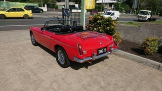 1970 MG B Mk 2 Red 4 Speed Manual + O/Drive Roadster.