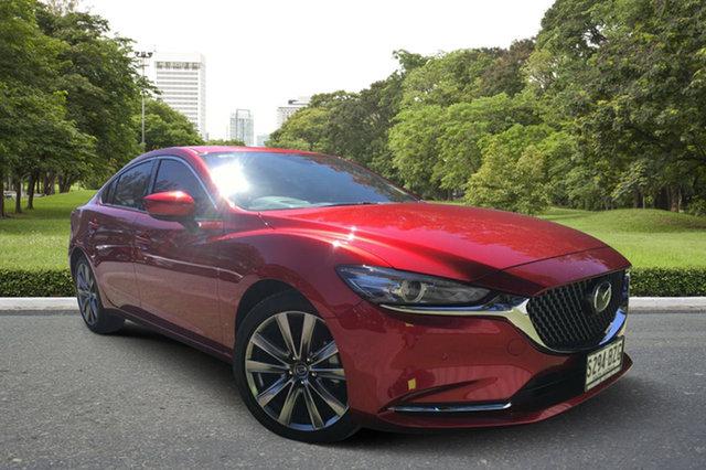 Demo Mazda 6 GL1032 Atenza SKYACTIV-Drive, 2018 Mazda 6 GL1032 Atenza SKYACTIV-Drive Soul Red 6 Speed Sports Automatic Sedan
