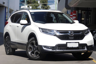 2018 Honda CR-V RW MY19 VTi-LX 4WD White Orchid 1 Speed Constant Variable Wagon.