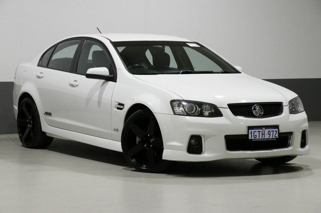 Used Holden Commodore VE II MY12 SS-V, 2012 Holden Commodore VE II MY12 SS-V White 6 Speed Automatic Sedan